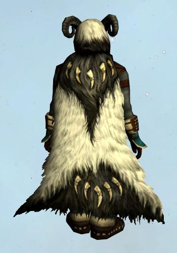 Spiral-hornedSnow-beastCloak01